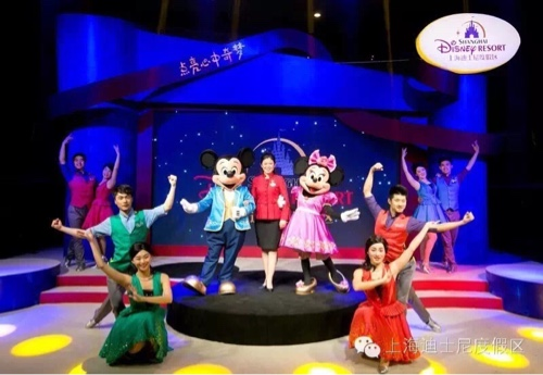 Shanghai Disney mall tour