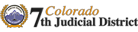 Colorado 7th Judicial District logo