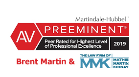 AV Preeminent rating by legal peers