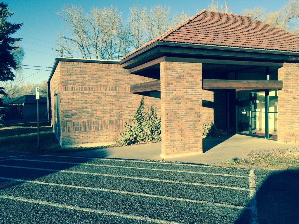 Back Entrance MMK Law Firm Building