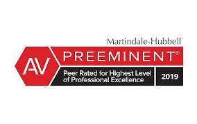 AV Preeminent Peer Rating