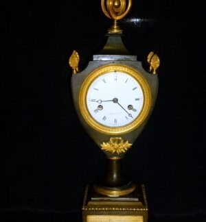 768. French Empire Mantle Clock