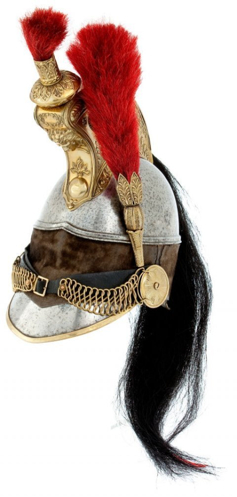 642. French Second Empire Cuirassier Helmet