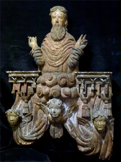 17th Century Carving