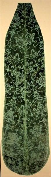 Italian, Florence silk and velvet textile