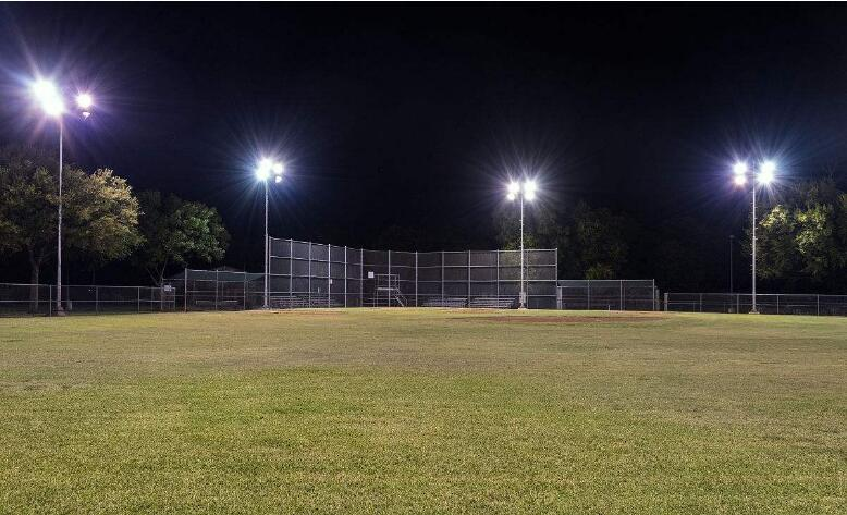 baseball field lighting