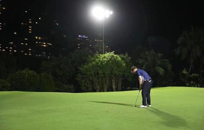 light up golf course