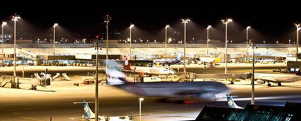 LED airport lighting