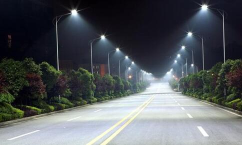 LED highway lighting