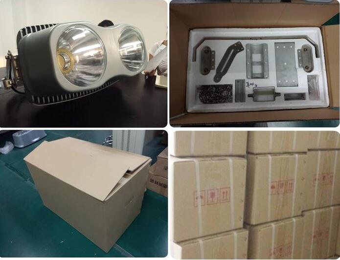 Packaging of 1000w flood lights outdoor