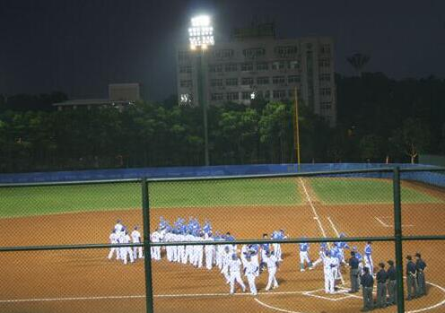 baseball field lights