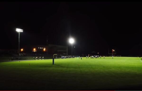 soccer field lights