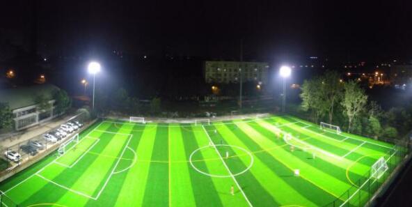 soccer field lights cost