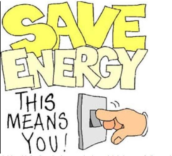 How to save energy at school