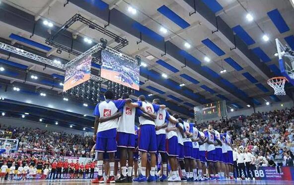 Indoor Basketball Court lighting