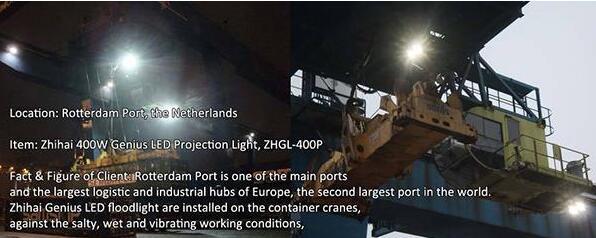 Led Flood Light for Crane Lighting