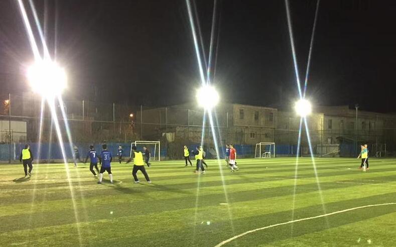 Outdoor Football Field Lighting Layout