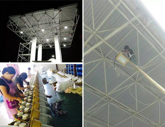 What does explosion proof lighting mean