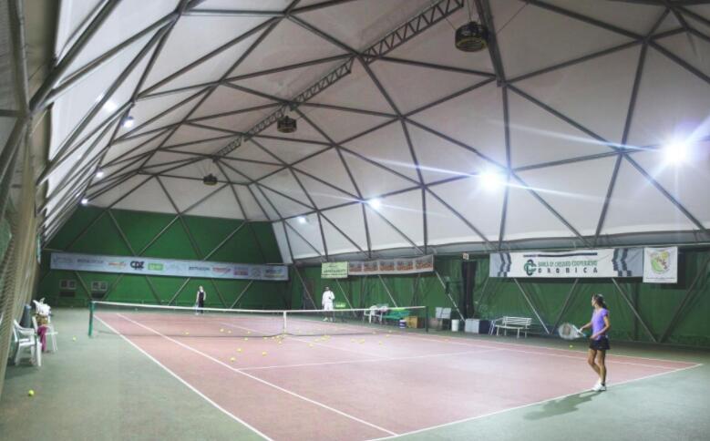 badminton court led lighting