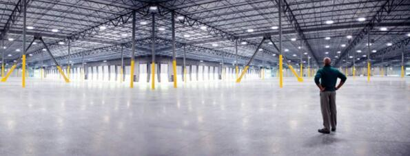 commercial warehouse lighting