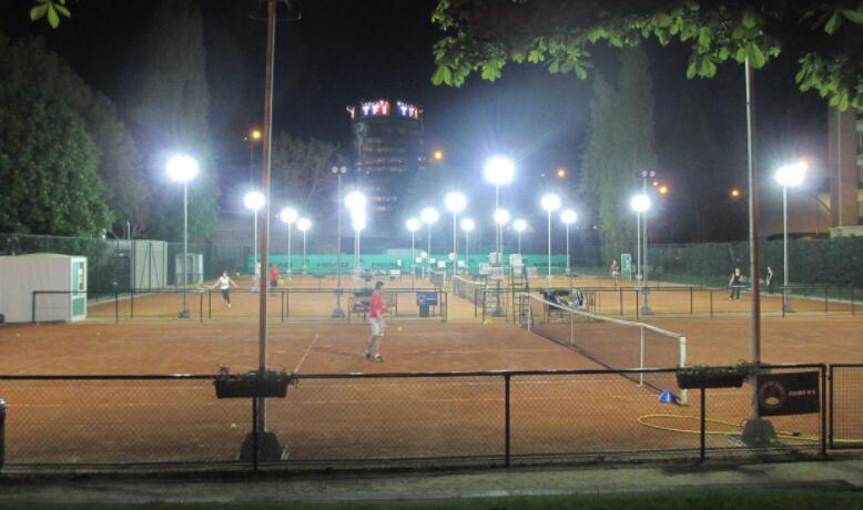 handball court lighting