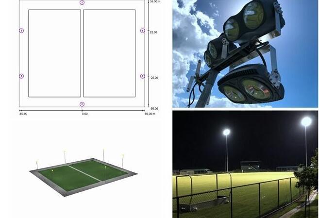 hockey field lighting