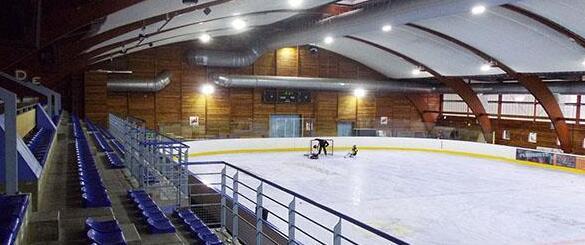 ice hockey stadium lighting