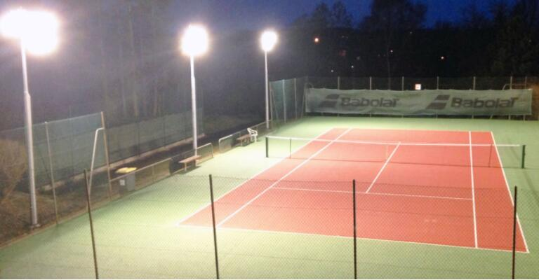 indoor badminton court led lighting