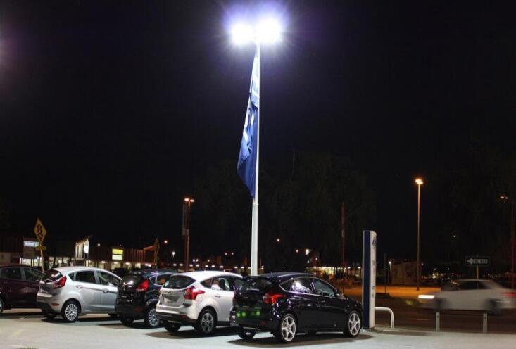 led parking lot lights retrofit