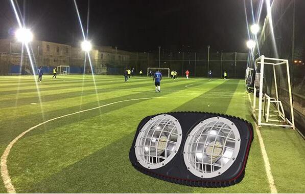 stadium flood lights installation