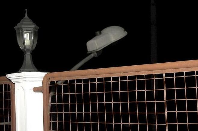 street lighting height