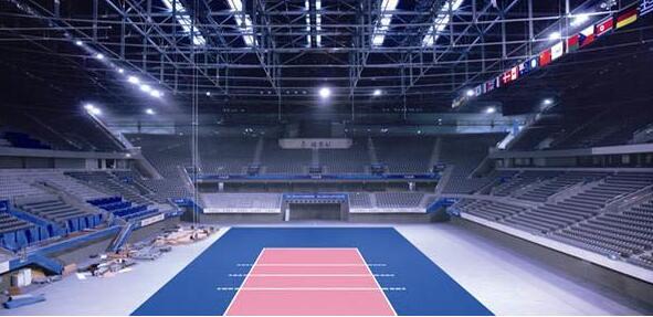 volleyball court lighting fixtures
