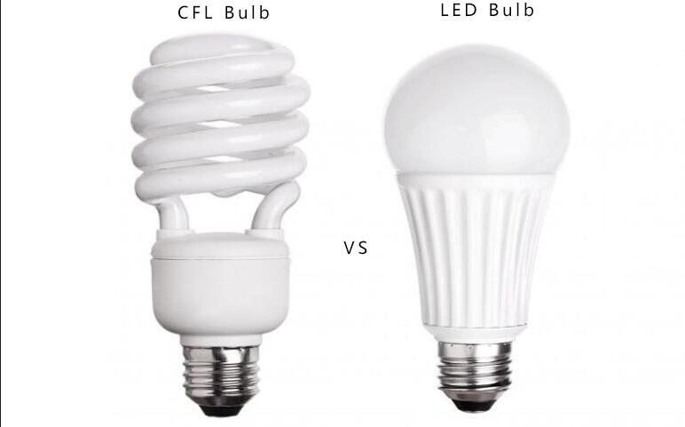 CFL bulbs vs LED bulbs