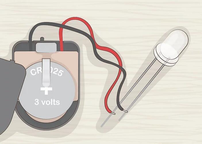 Purchase a corresponding coin cell battery holder