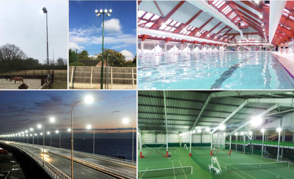 application of 200w led flood light