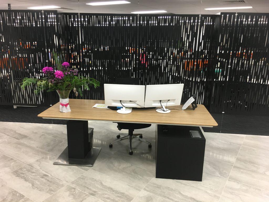 Aluminium suspended wall screens 3