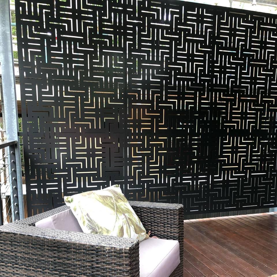 Aluminium decorative screens
