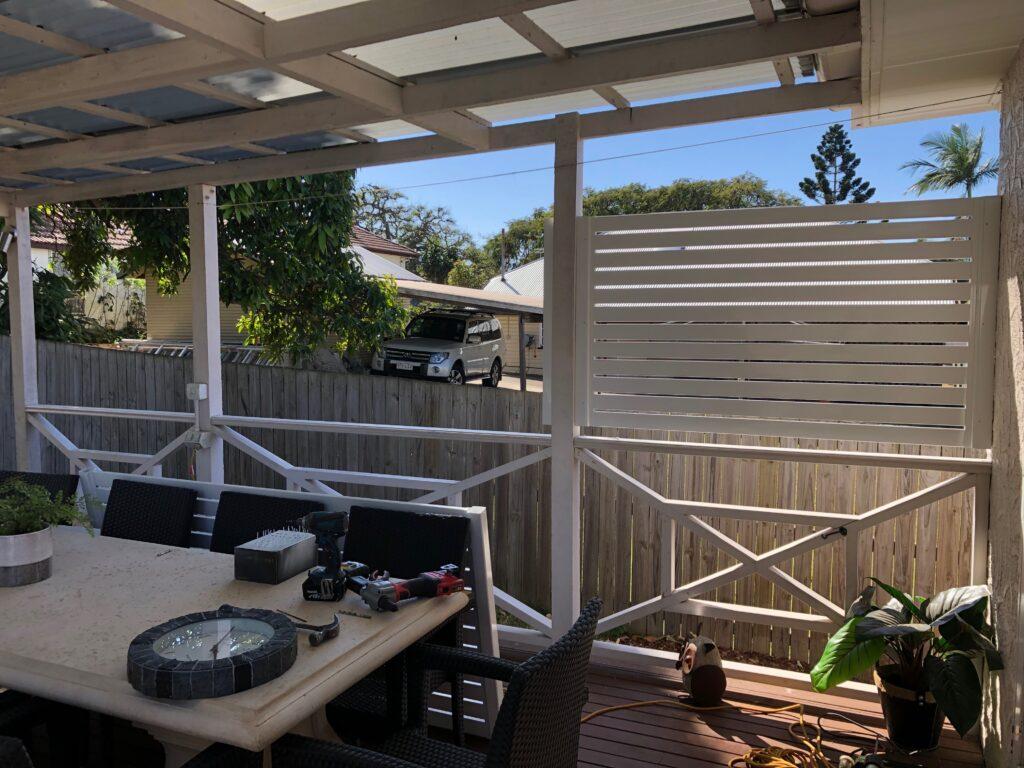 back deck screen