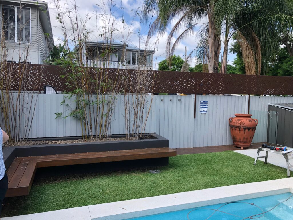 pool area privacy screens