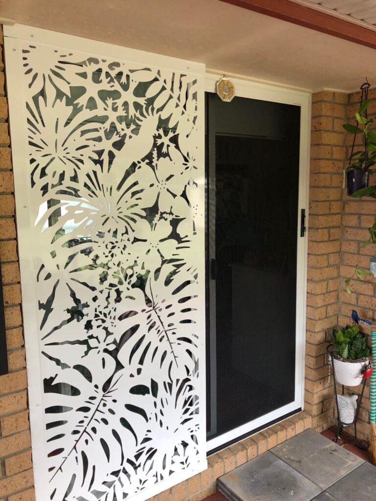 rear door privacy screen