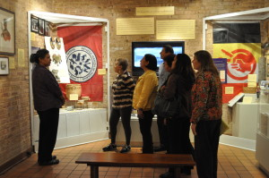 2015 Tour Group at Mitchell Museum