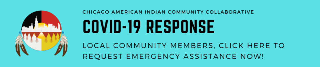 COVID-19 Response, local native community members click the image to request emergency assistance
