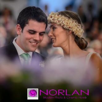 Fotos de la boda de Justina y Enrique en Parroquia Santo Cristo y Quinta La Paz Pilar por Norlan Modern Photo & Cinema Video