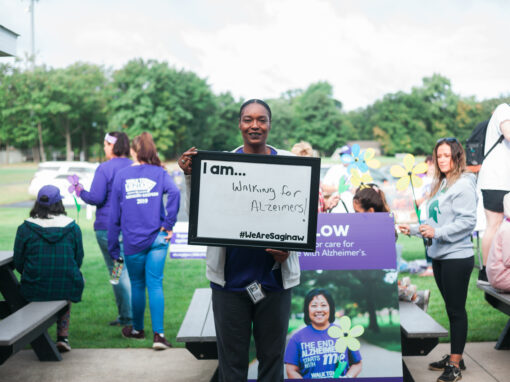 I AM…Walking for Alzheimers!