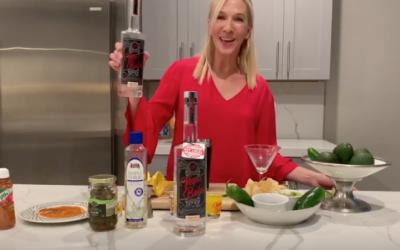 Vegas Baby Vodka's Cinco de Mayo drink