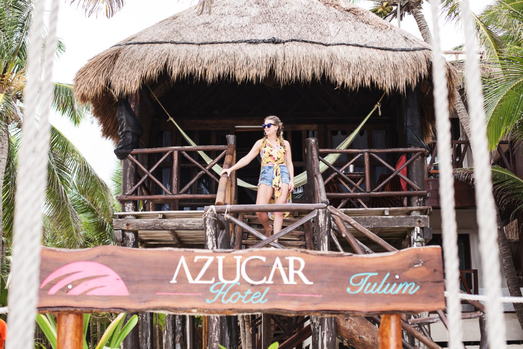 azucar hotel Tulum beach bungalow