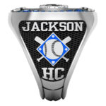BL-2 | Baseball w/crossed bats & your team color diamond