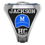 BL-8 | Baseball Hat w/your team color & logo