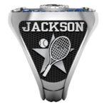 TN-2 | Tennis Racket w/ball & star