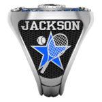 TN-3 | Tennis Racket w/ball & your team color star